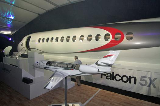 Бизнес джет falcon